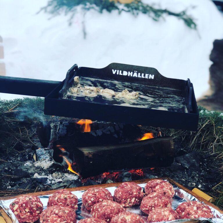 Vildhällen och matlagning